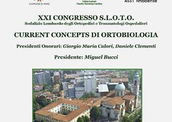 Current Concepts di Ortobiologia – XXI CONGRESSO SLOTO